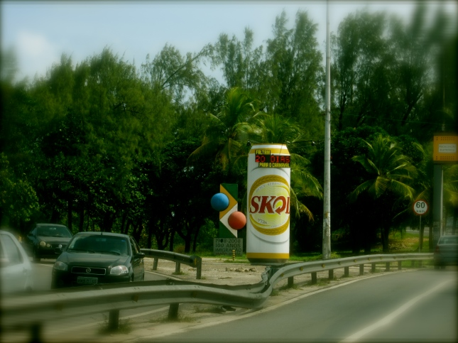 """20 days to Carnaval"", says the can of beer!"