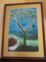 Quenua Tree [oil on canvas]