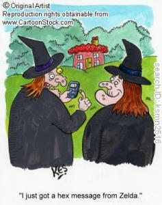 "Tip for enjoying Halloween: ""Don't text and fly!"""