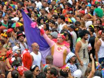 February 2012: Enjoying the largest street carnival in the world - Recife, Pernambuco, Brazil.