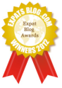 blog award gold