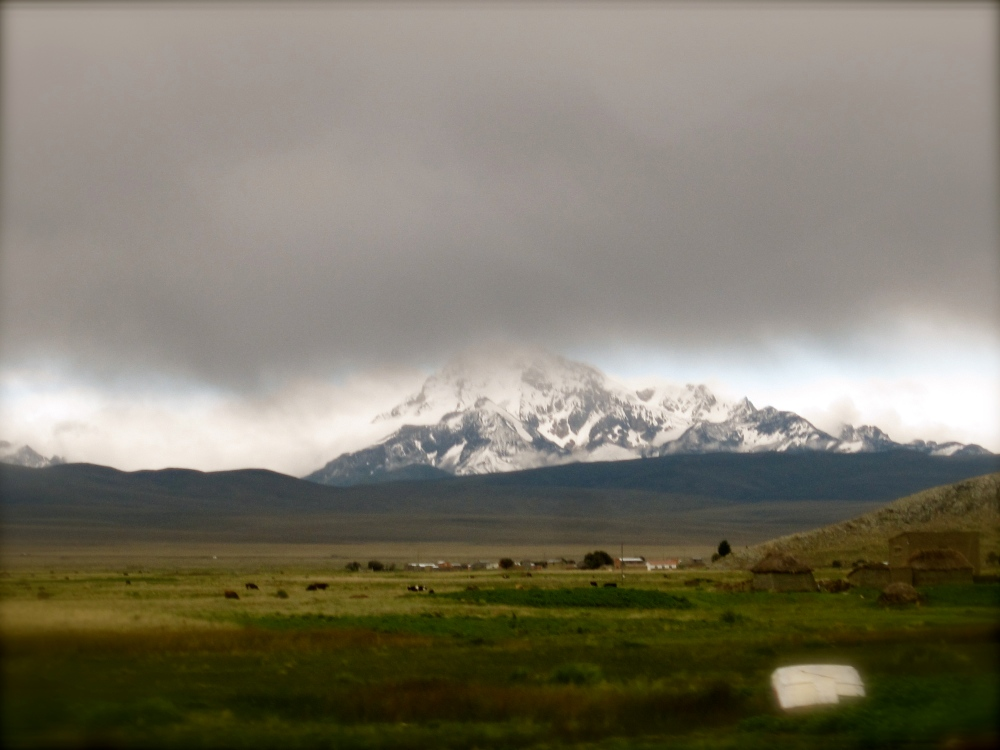 Photo Project: 52 Bolivian Sundays [week 5, 'Unique']: the highest mountain in the Cordillera Real. (1/6)