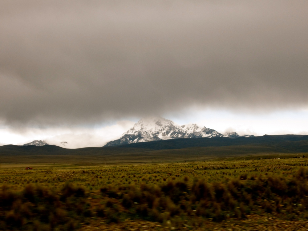 Photo Project: 52 Bolivian Sundays [week 5, 'Unique']: the highest mountain in the Cordillera Real. (5/6)