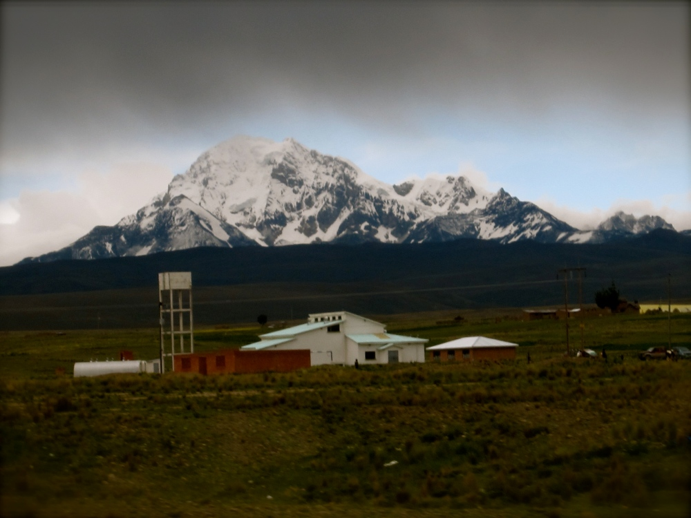 Photo Project: 52 Bolivian Sundays [week 5, 'Unique']: the highest mountain in the Cordillera Real. (3/6)