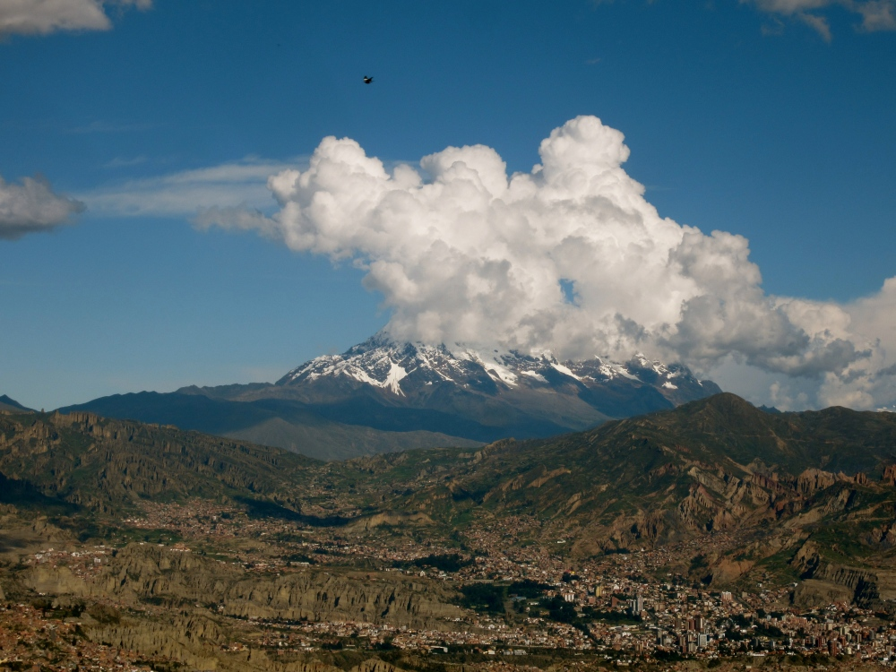 Photo Project: 52 Bolivian Sundays [week 5, 'Unique']: the highest mountain in the Cordillera Real. (6/6)