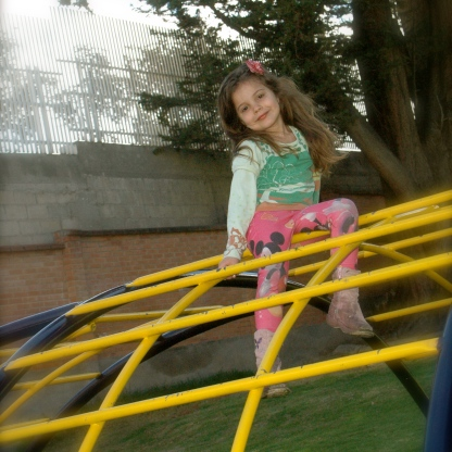 Days spent at close-by parks and playgrounds