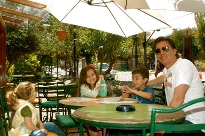 Family luncheons and walks thru the neighborhood of Calacoto